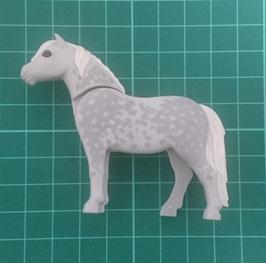 PLAY.FIG11.C1264.5724 Caballo Potro Pony estilo 11 GRIS MANCHA GRIS