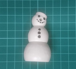 PLAY.FIG10.B5664.3082 FIGURA MUÑECO NIEVE