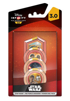 DISNEY INFINITY 3.0 POWER DISC STAR WARS THE FORCE AWAKENS