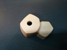 Play.TP03.C3424.4982 Base piedras apiladas 1 Agujero 1 CLIP (Marron)