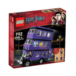 LEGO 4866 HARRY POTTER EL AUTOBUS DE NOCTAMBULO THE KNIGHTS BUS
