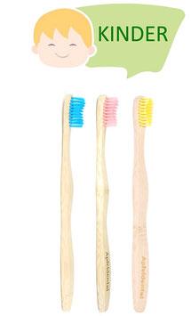 Zahnbürsten 3er-Pack Kinder