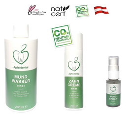 Apfeldental Bio Zahnpflege Paket