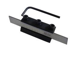 Abstechstahl-Halter + HSS-Messer Schaft 10 mm