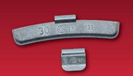 HSG Schlaggewichte, Zink für Stahlfelgen