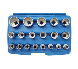 Gear Lock Steckschlüsseleinsätze 12,5 (1/2) , 19-tlg (Art.2152)