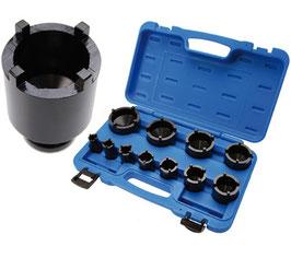 Spezial-Einsatz-Set für Nutmuttern, 22-75 mm, 11-tlg. (Art. 8265)