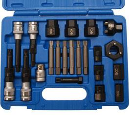 Lichtmaschinen Bit- und Steckschlüssel-Set, 22-tlg (Art.4247)