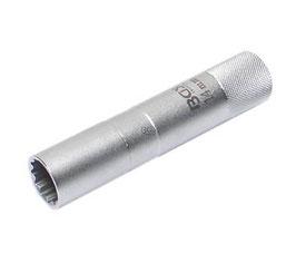 Zündkerzen-Einsatz 14 mm, 12-kant, 10 (3/8), Länge 90 mm (Art. 2446)