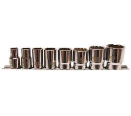 Whitworth Steckschlüsseleinsätze, 8-tlg., 12,5 (1/2) (Art. 2153)