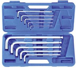 """Innen-6-kant-Winkelschlüssel-Set """"Maxi"""", 3x130-17x340 mm, 10-tlg. (Art. 795)"""