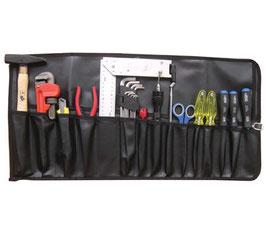 Werkzeug-Rolltasche, mit 15 Fächern (Art.3314)