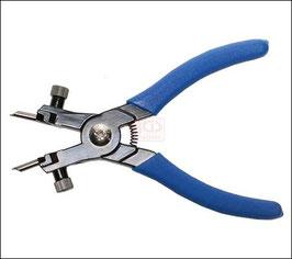 Profi-Sprengring-Zange, 165 mm lang, für Außensicherung (Art. 445), für Innensicherung (Art.446)