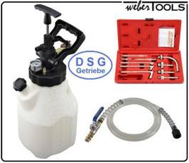 Einfüllgerät für Automatikgetriebeöl  mit 10  Adapter