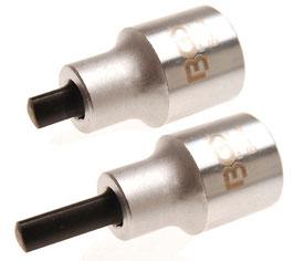 Spreiz-Einsatz-Set für Federbeinklemmung, 5 x 7 mm & 5,5 x 8,2 mm (Art. 6455)