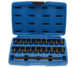Ölwannen-Spezialeinsatz-Set, 10 (3/8), 21-tlg. (Art.1014)