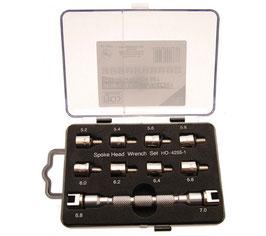 Speichen-Schlüsselsatz für Motorräder, 10-tlg. (Art. 8360)