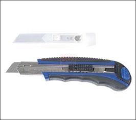Teppichmesser, 18 mm Klingen, extra schwere Ausführung incl. Ersatzklingen (Art. 7956)