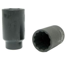 Kraft-Steckschlüssel-Einsatz, 12-kant, 38 mm, 12,5 (1/2) (Art. 5344)