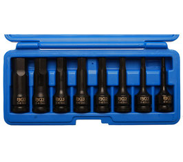 Kraft-Biteinsatz-Set, Innensechskant 5-19 mm, 12,5 (1/2), 8-tlg. (Art. 5481)