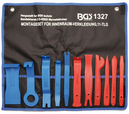 Innenraumverkleidungs-Werkzeugset, 11-tlg. (Art. 1327)