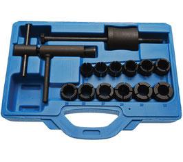 Bremskolben-Ausbau-Set für Motorräder, 14-tlg. (Art. 8242)