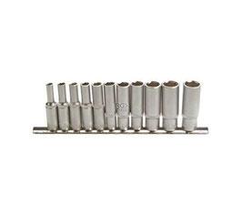 Steckschlüssel-Einsätze, tief, 6,3 (1/4), 4 -13 mm, 11-tlg. (Art. 2221)