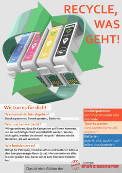 RECYCLE, WAS GEHT! - Plakat