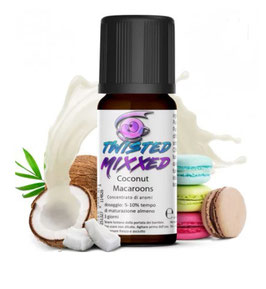 Twisted Aroma Coconut Macaroons 10ml