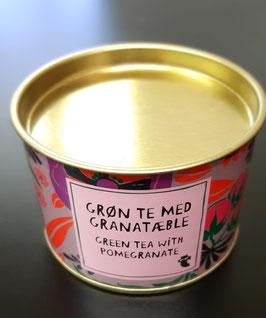 Grüner Tee mit Granatapfel