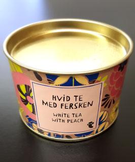Weisser Tee mit Pfirsich