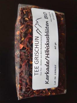 Karkade/Hibiskusblüten BIO geschnitten