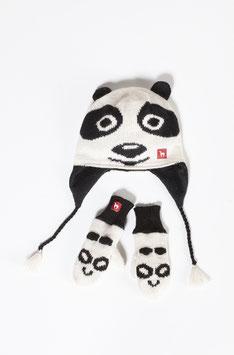 Kinder Panda Mütze