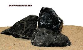 schwarzer Fels