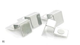 Stainless Steel Hooks 10mm / Halterung für Abdeckscheiben