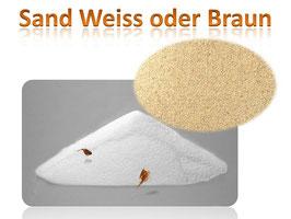 Sand zum Graben und Buddeln