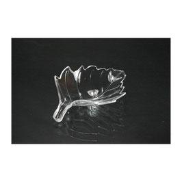 Futterschale aus Acryl in Blattform