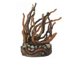 Samuel Baker Wurzel-Skulptur