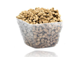 Gerstenpellets Angereichert mit Torf und Huminsäure