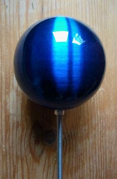 Edelstahl Kugel Blau