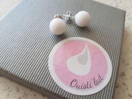Boucles d'oreille de lait maternel (BO01)