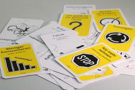 Kartensatz  Konsum- und Zielabklärung