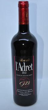 Le Clos de l'Adret Rotwein 2012