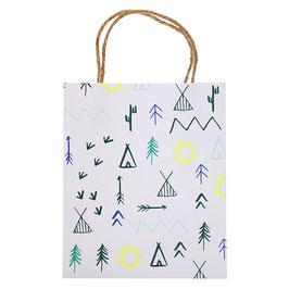 8 petits sacs à cadeaux invités anniversaire indiens meri meri