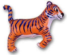 Ballon métallique tigre 81cms