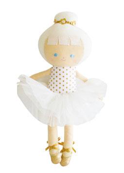Poupée Baby ballerina écru et or Alimrose