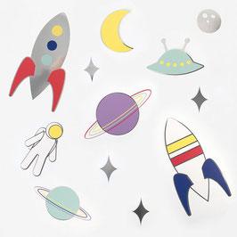 Décorations papier thème Espace My Little Day