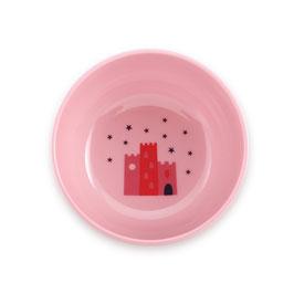 BOL ROSE DESSIN CHATEAU SUPER PETIT