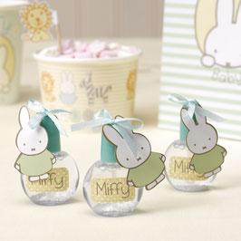 6 tubes à bulles décoration anniversaire Miffy