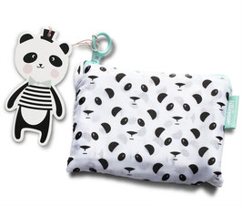 Sac pliable shopping bag Panda Eef Lillemor